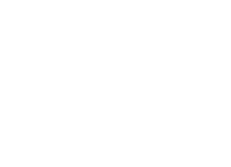 Line drawing of a gas hob